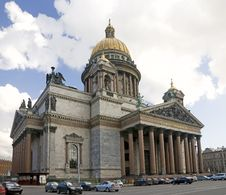 Free St.Isaac Cathedral 1 Royalty Free Stock Images - 6113119