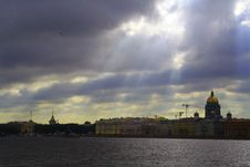 Free Neva River In Saint Petersburg Stock Photos - 6113133