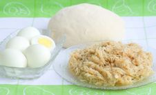 From Cabbage Pie And Eggs (recipe N2, Series) Stock Images