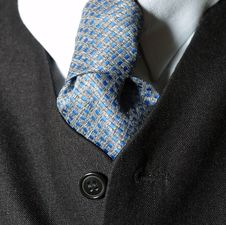 Free Tie Of A Business Man Stock Images - 6114744