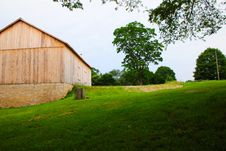 A New Barn Royalty Free Stock Images