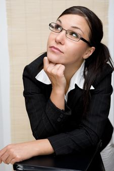 Free Businesswoman At Work Royalty Free Stock Photos - 6114988