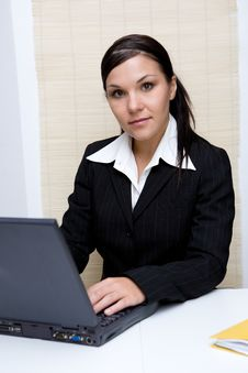 Free Businesswoman At Work Stock Image - 6115121