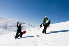 Free Snowboarder Royalty Free Stock Photography - 6115437