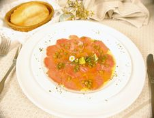 Free Carpaccio Royalty Free Stock Photography - 6115467
