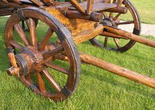 Free A Wooden Cart Royalty Free Stock Photo - 6115915