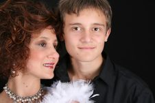 Free Stylish Mother And Son Stock Photo - 6116020