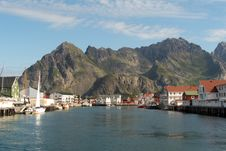 Free View Of Henningsvaer Royalty Free Stock Images - 6116219