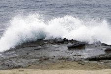 Waves Royalty Free Stock Photography