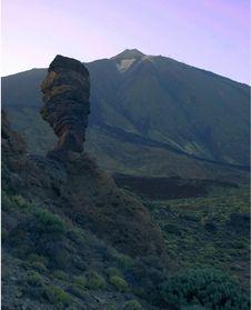 Free Dusk On Mount Teide Stock Photos - 6117203