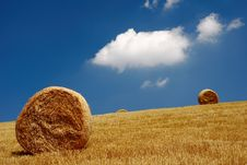 Free Straw Bales Stock Photo - 6117350