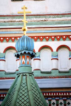 Free Cupolas And Crosses Royalty Free Stock Photography - 6117517