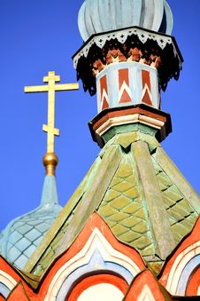 Free Cupolas And Crosses Stock Photo - 6117560