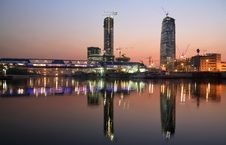 Free Moscow City Business Center Stock Photos - 6117573