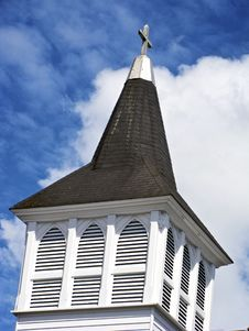 Free Church Steeple Royalty Free Stock Images - 6117579
