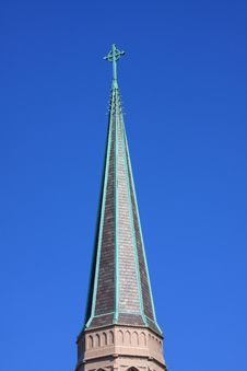 Free Church Spire Royalty Free Stock Photo - 6118095