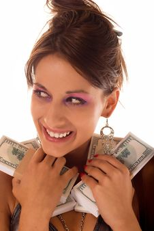 Free Cash Royalty Free Stock Image - 6118536