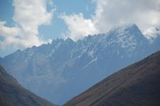 Free Andes Mountains 10 Royalty Free Stock Photo - 6118665