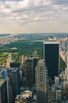 Free Skyscrapers And Central Park Stock Photos - 6118953