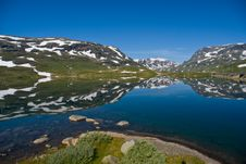 Free Mountain Reflection Stock Photography - 6119252