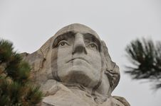 Free Washington In The Rain Royalty Free Stock Photography - 6119737