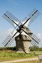 Free Classic French Windmill Stock Photos - 6128303