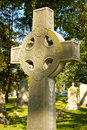 Free Celtic Cross Tombstone Stock Photography - 6129352