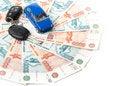 Free Car, Keys And Money Royalty Free Stock Photo - 6129865