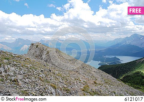 Free Mountains Top Royalty Free Stock Photography - 6121017
