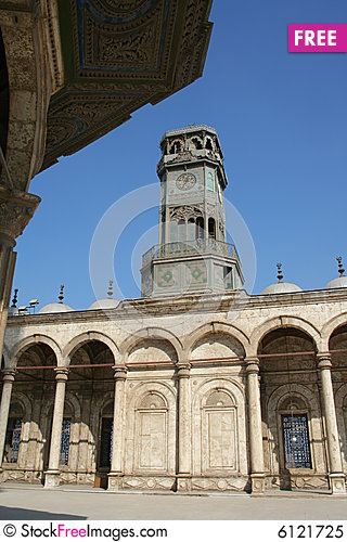 Free Mosque In Cairo Royalty Free Stock Photo - 6121725
