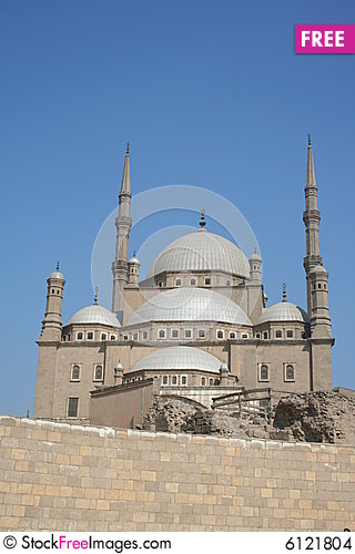 Free Mosque In Cairo Stock Images - 6121804