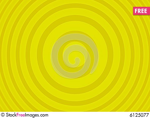 Free Yellow Target Royalty Free Stock Photography - 6125077