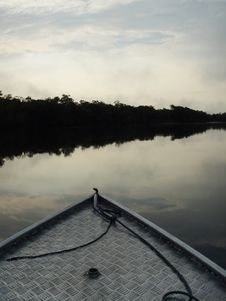 Free Early Morning In The Amazon Royalty Free Stock Images - 6120009