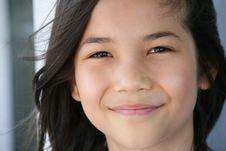 Free Smiling Girl Stock Photo - 6120450