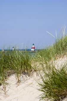 Free Lighthouse At St. Joseph, Michigan Royalty Free Stock Images - 6120629