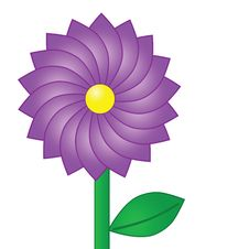 Free Purple Flower Royalty Free Stock Photo - 6120725