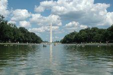 Free Washington Monument Royalty Free Stock Photography - 6120807