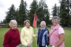 Free Elderly Golfers Royalty Free Stock Photo - 6120875