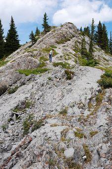 Free Steep Hiking Trail Stock Photo - 6120880