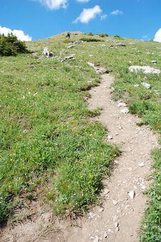 Free Steep Hiking Trail Royalty Free Stock Image - 6121016
