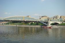 Free Bridge Of Bogdan Khmelnitskiy Or The Kiev Bridge Stock Images - 6121304
