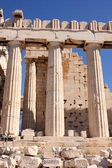 Free Acropolis Royalty Free Stock Image - 6121386