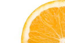 Free Quarter Of Orange Royalty Free Stock Images - 6122879