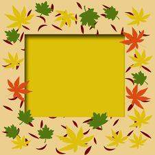 Free Autumn Frame Stock Image - 6122901