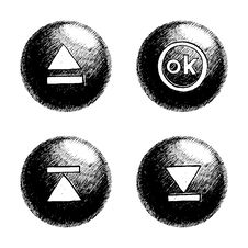 Free Sketchy Orb Button Stock Photos - 6123043