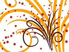 Free Abstract Flower Background Royalty Free Stock Photos - 6123188