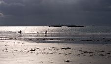 Free St Malo Silhouette Stock Photography - 6123552