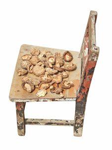 Free Dried Mushroom And Stool Royalty Free Stock Image - 6123576