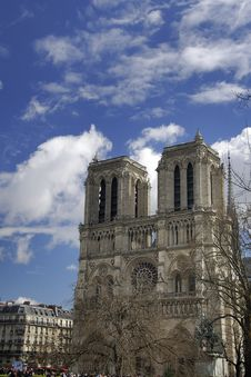 Free Notre Dame Basilica In Paris Stock Photo - 6123940