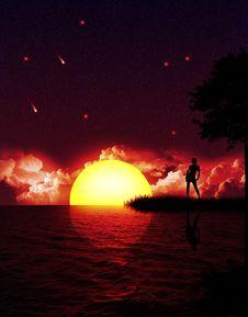 Free Magic Night Stock Image - 6124621